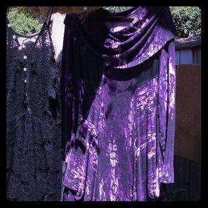 💜💜KENSIE💜💜 RARE TYE-DYE COMFY DRESS 4 All ages